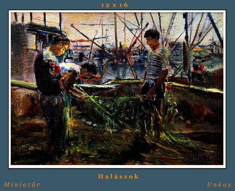 Halászok