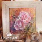 Rózsák festmény